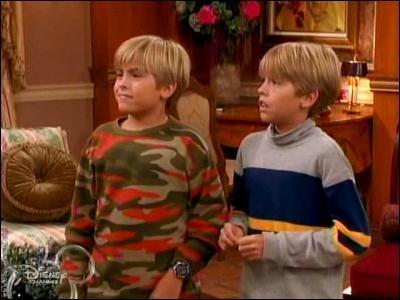 Où se passe l'action dans la série avec les jumeaux Zack et Cody ?