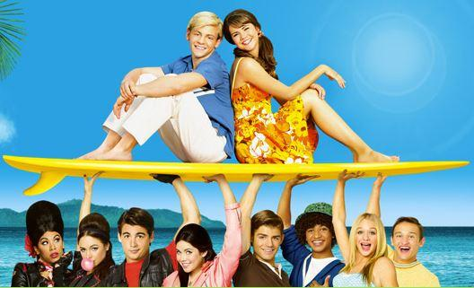Teen Beach Movie. Les personnages