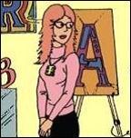 Comment s'appelle cette jeune fille, inventée par Hergé puis reprise par Rodier, travaillant dans une galerie d'art ?