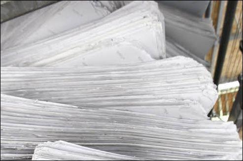 Quelle est la principale matière première du papier ?