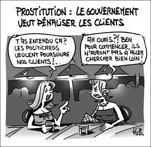 En Suisse, il est illégal de recourir aux services d'une prostituée !