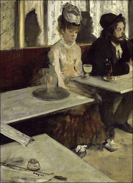 Cette peinture à l'huile sur toile peinte en 1876 par Edgard Degas, est conservée au Musée d'Orsay.
