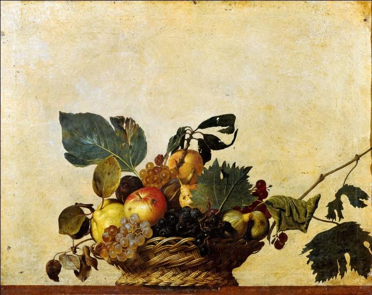 C'est un tableau de Caravage conservé à la Pinacothèque Ambrosienne de Milan.
