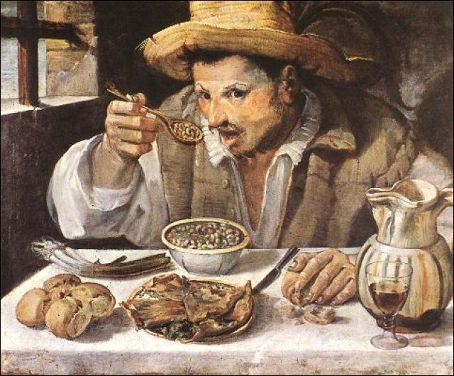 Annibale Carracci (Annibal Carrache) de 1583 à 84 a peint cette toile.