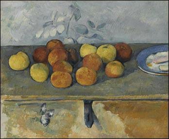 Cette toile (1879-1882) de Paul Cézanne se trouve au Musée de l'Orangerie.