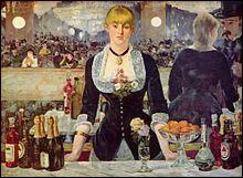 Edouard Manet réalise en 1881-1882 ce magnifique tableau.