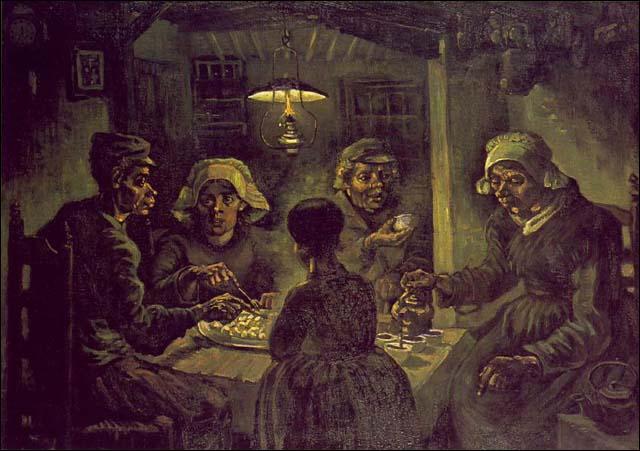 Vincent van Gogh est l'auteur de ce tableau.