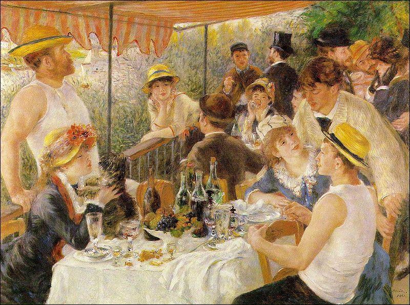 Cette toile d'Auguste Renoir a été réalisée en 1880-1881.