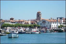 Je me rends à Saint-Jean-de-Luz, en Aquitaine et dans le département n°...