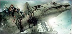 De quelle espèce est le dragon qui aide Harry, Hermione et Ron à s'enfuir de Gringotts ?