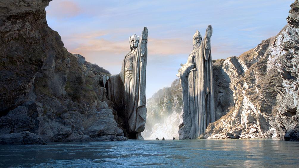 Le Seigneur des Anneaux : les paysages