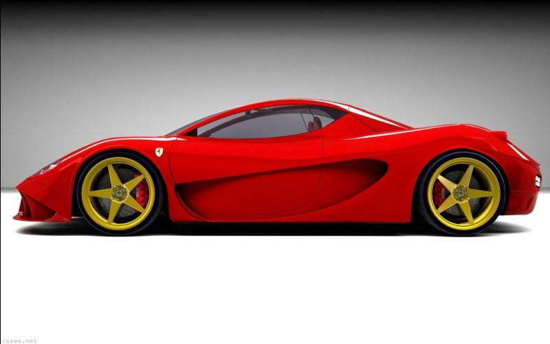I bought a Ferrari, now I'm in the red  se traduit :