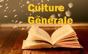 Culture générale 3