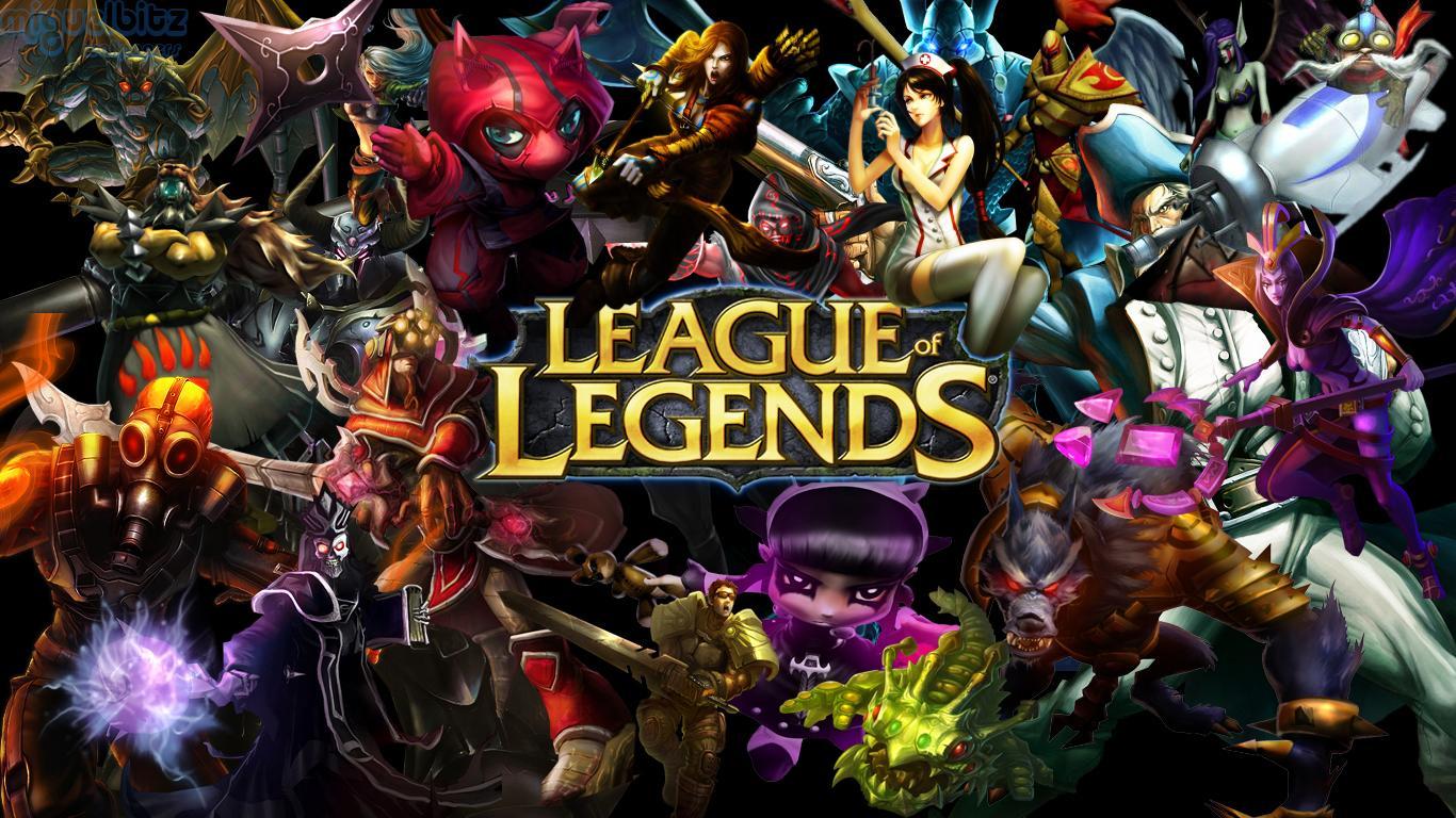 Les champions de Leagues of Legends
