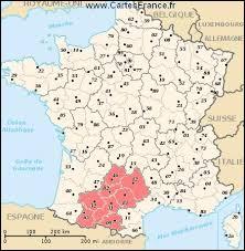 Comment se nomme la région en rose ?