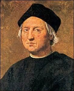 En 1492, Christophe Colomb découvrit...
