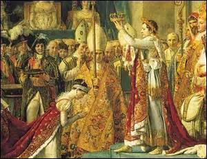 Napoléon Bonaparte devint l'empereur Napoléon Ier le...