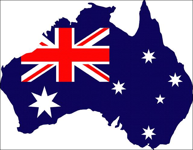 Sur quel continent se trouve l'Australie ?