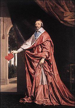 Il fut nommé cardinal par le pape Grégoire XV et fut l'un des principaux ministres de Louis XIII. Quel est son nom ?