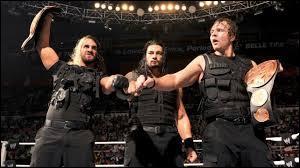 A  Extreme Rules  2013, qui furent battus par Roman Reigns et Seth Rollins pour le gain des titres par équipe de la WWE ?