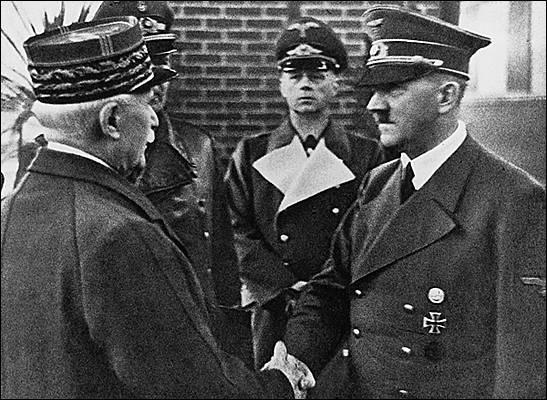 A quelle date la France abdique t-elle face à l'armée allemande ?