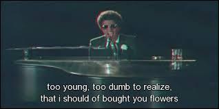 Vous l'avez reconnu, c'est bien Bruno Mars ! Quel est son clip sur cette image ?