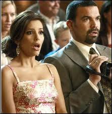 Dans «Desperate Housewives», Eva Longoria et Ricardo Antonio Chavira jouent le couple de...