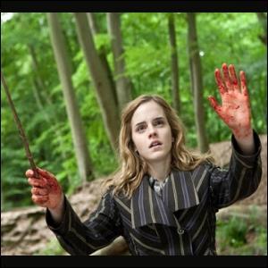 Pourquoi un des chapitres s'intitule  La main secourable d'Hermione  ?