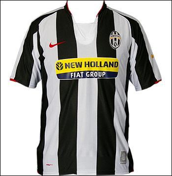 Quelle équipe du Calcio porte ce maillot ?