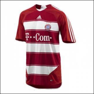 Quelle équipe de Bundesliga possède ce maillot ?