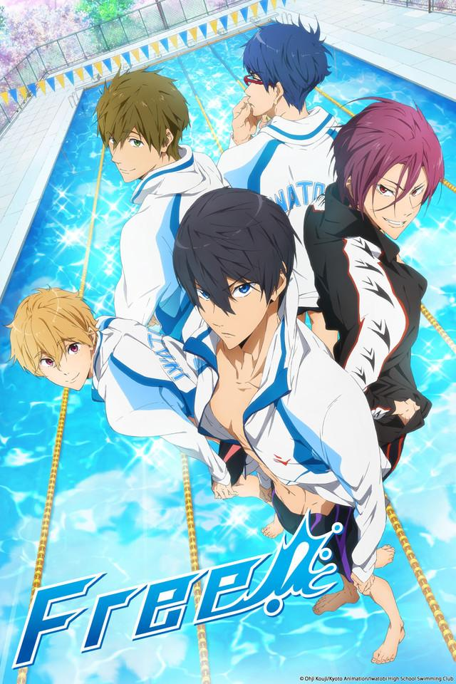 Free ! - Les personnages