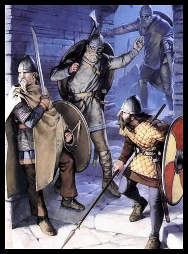 Lors de quel siècle les Normands ont-ils multiplié les raids en France ?