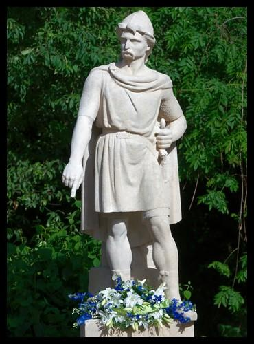 Comment s'appelait le chef des Normands avec qui il a alors négocié ?