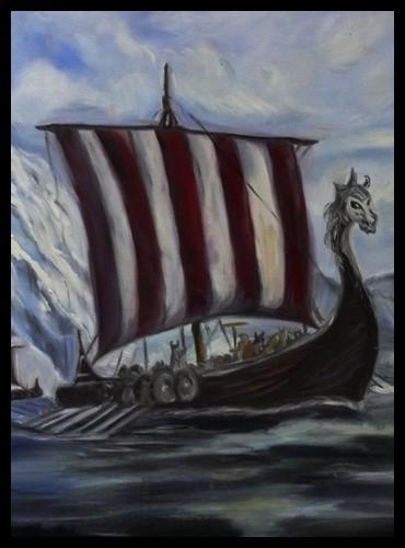 Quelle était la particularité des bateauxvikings ?