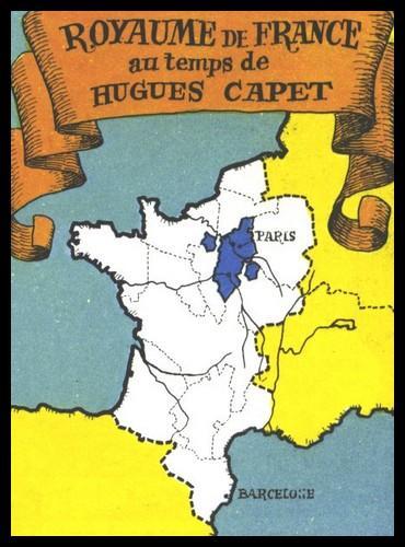 En 987, nous sommes sous le règne de Hugues Capet. Cochez la seule MAUVAISE réponse concernant son domaine royal.