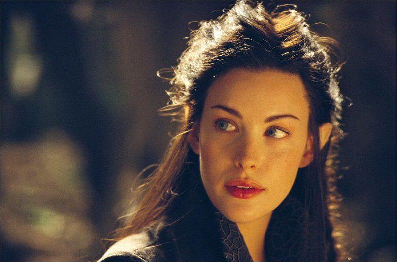 Elle va renoncer à son immortalité pour l'amour d'Aragorn :