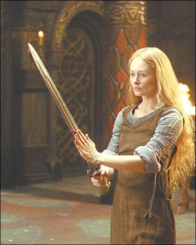 Le coeur de celle-ci battait également pour Aragorn :