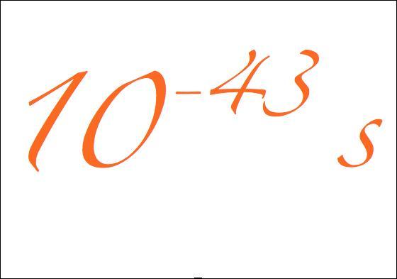 La période de 10^-43 secondes (10 puissance moins 43 secondes) qui suivit le Big Bang est pour l'instant inconcevable. Comment s'appelle cette période ?