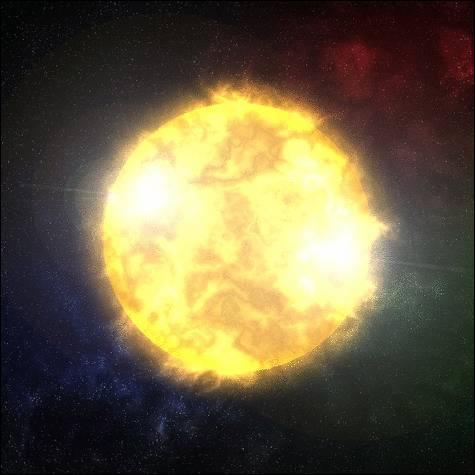 La première étoile est née...