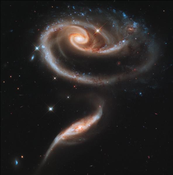 Les premières galaxies sont apparues...
