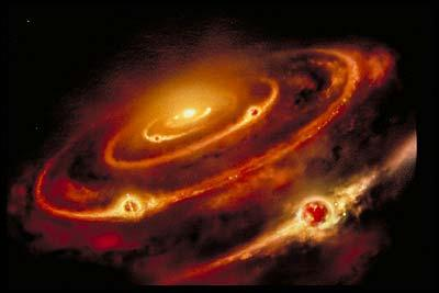 Le système solaire existe depuis cinq milliards d'années. Dans quel milieu a-t-il été formé ?