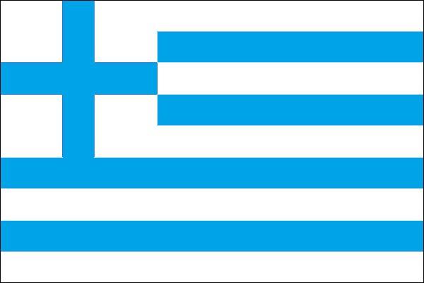 drapeau de la grece