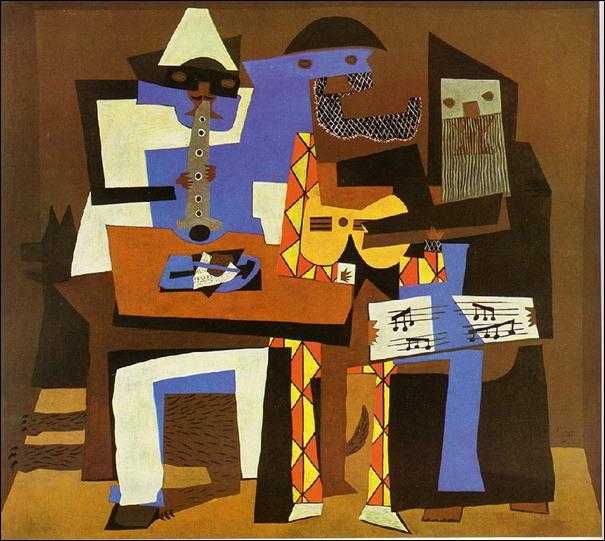 Cet immense artiste a passé la plus grande partie de sa vie en France. Il fut, avec Georges Braque, le chef de file du mouvement cubiste. Créateur insatiable, il a abordé toutes les formes d'expression plastique. Une toile célèbre : Les trois musiciens (1921).