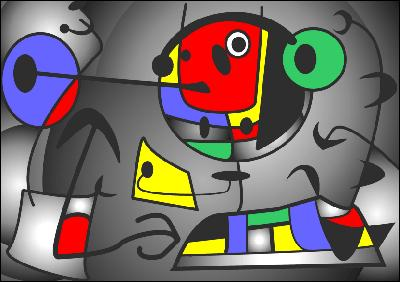 André Breton a dit de ce peintre catalan qu'il était  le plus surréaliste des surréalistes . En 1957, il devint Satrape du Collège de Pataphysique.