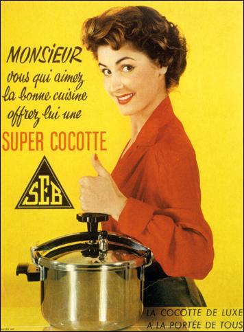 La famille Lescure, élargit progressivement son champ d'action aux ustensiles de cuisine et, au début du XXe siècle, mécanise son activité. Que fabriquait la Société d'emboutissage de Bourgogne avant le lancement de la cocotte-minute ?