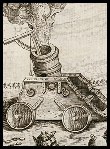 Ce n'est qu'avec l'apparition de l'artillerie moderne que ces forteresses sont devenues vulnérables... Quand était-ce ?