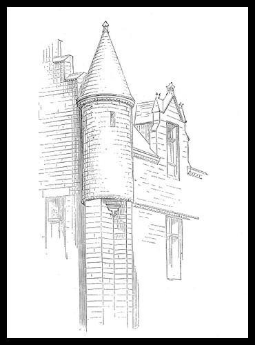 Comment appelle-t-on une petite tour dans un château fort ?