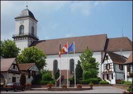 Nous partons en Alsace, à Marlenheim, commune située dans le département n° ...