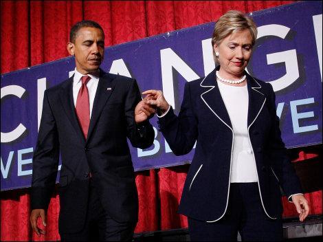 Si Hillary Clinton devient la secrétaire d'Etat de Barack Obama...