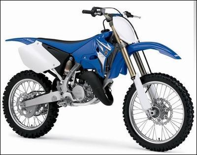 Quelle est la marque de cette motocross ?